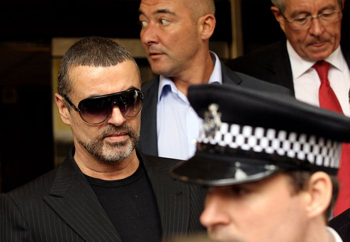 George Michael Appears In Court Charged With Driving Offences