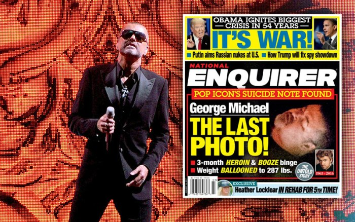 George Michael Performs At The MEN Arena