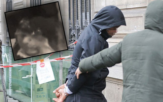 kim kardashian robbery paris arrests video