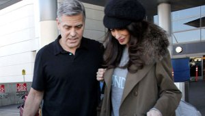 george clooney amal pregnant twins