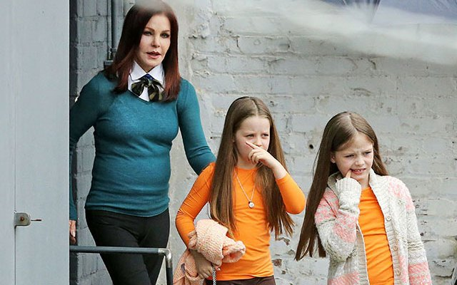 lisa marie presley divorce priscilla twins