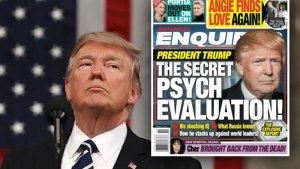 donald trump mental health exam psych files