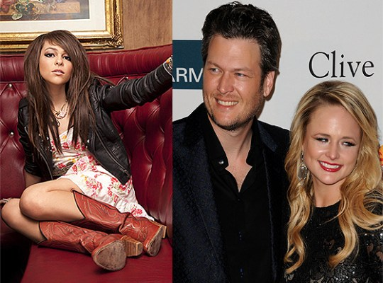Cady Groves, Blake Shelton, Miranda Lambert