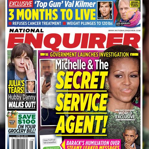 celebrity news michelle obama secret service scandal