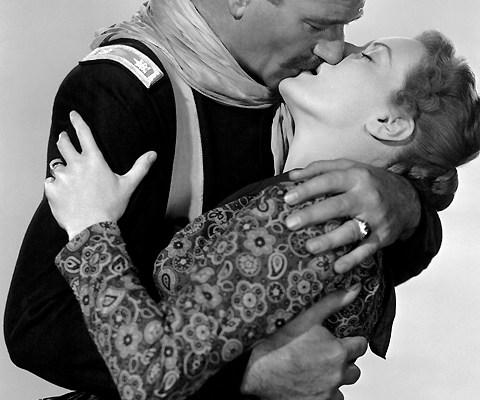 "John Wayne & Maureen O'Hara ""Rio Grande"""