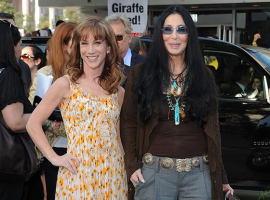 Cathy Griffin and Cher