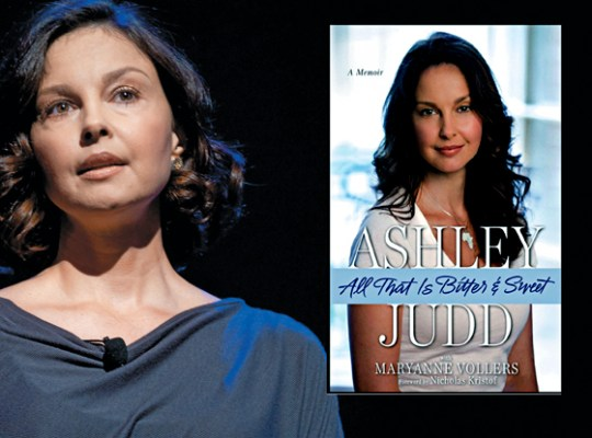 Ashley judd, memoirs