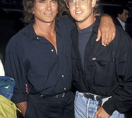 Michael Landon Sr. & Jr. 1989