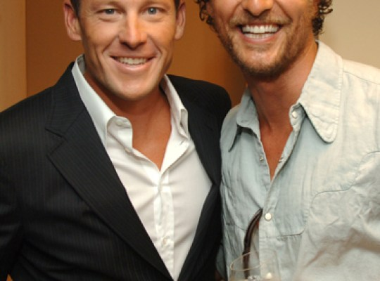 Matthew McConaughey Defends Lance Armstrong