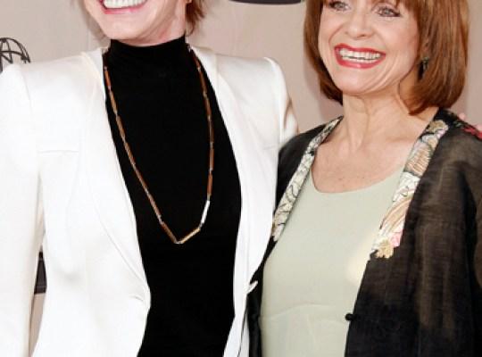 MARY TYLER MOORE & VALERIE HARPER