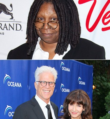 TED DANSON, MARY STEENBURGEN, WHOOPI GOLDBERG