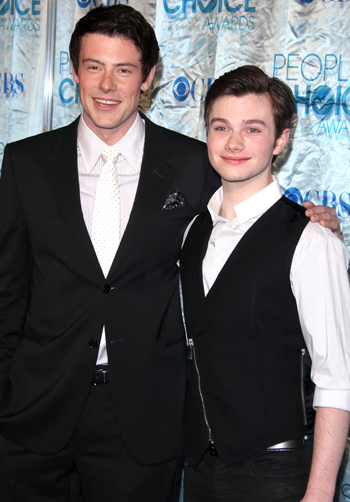 CHRIS COLFER & COREY MONTEITH