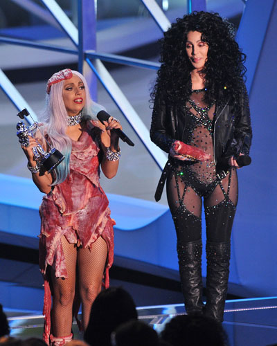 Lady Gaga and Cher