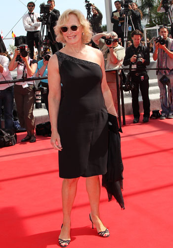 Glenn Close at the <i>Tamara Drewe</i> premiere
