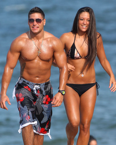 <i>Jersey Shore</i>'s Ronnie Ortiz-Magro and Sammi Giancola