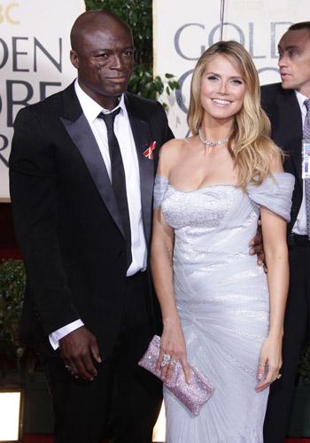Seal and Heidi Klum