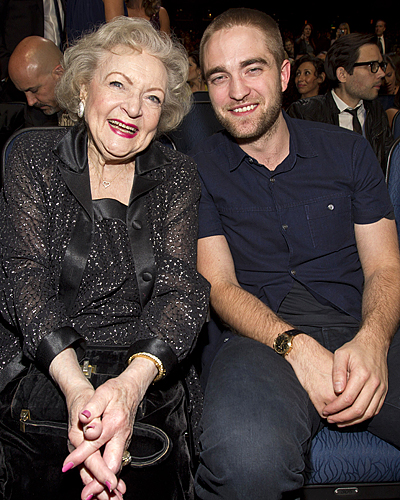 BETTY WHITE & ROBERT PATTINSON