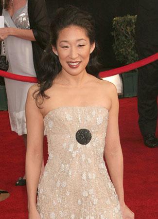 Sandra Oh plays Cristina Yang