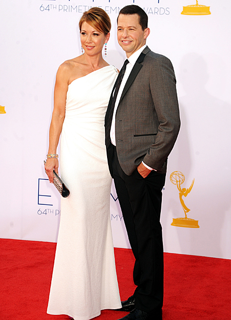 "JON CRYER & LISA JOYNER ""Two and a Half Men"""