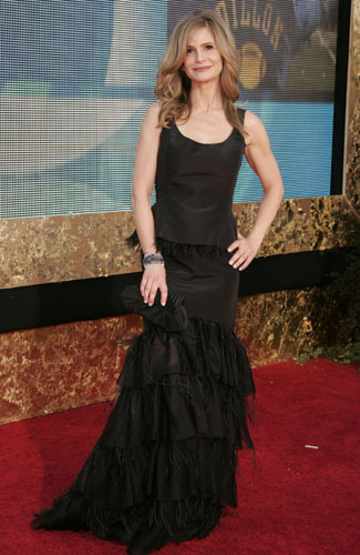 Kyra Sedgwick at the 59th annual Primetime Emmy Awards.