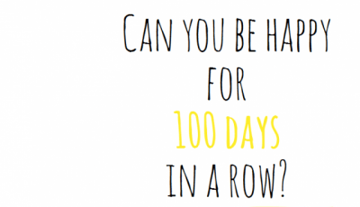 100 Days of Happiness Challenge