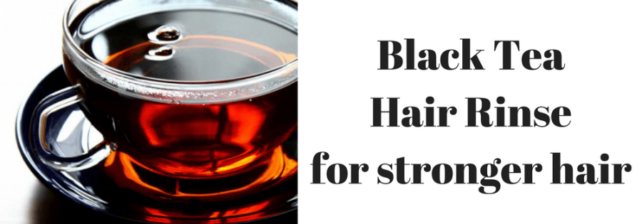Black Tea Hair Rinse