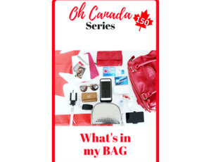 Oh Canada - What's In My Bag - Ottawa Road Trip