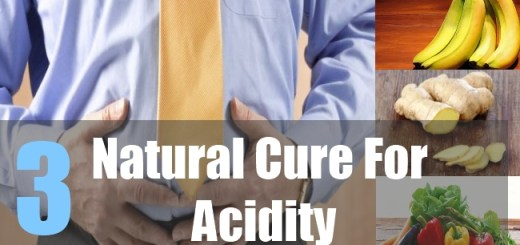 3 Natural Cure For Acidity