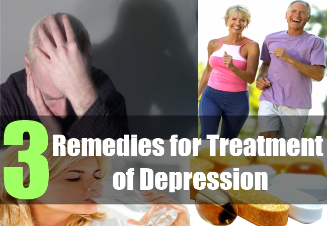 3 Remedies for Treatment of Depression