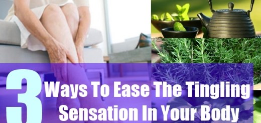 3 Ways To Ease The Tingling Sensation In Your Body