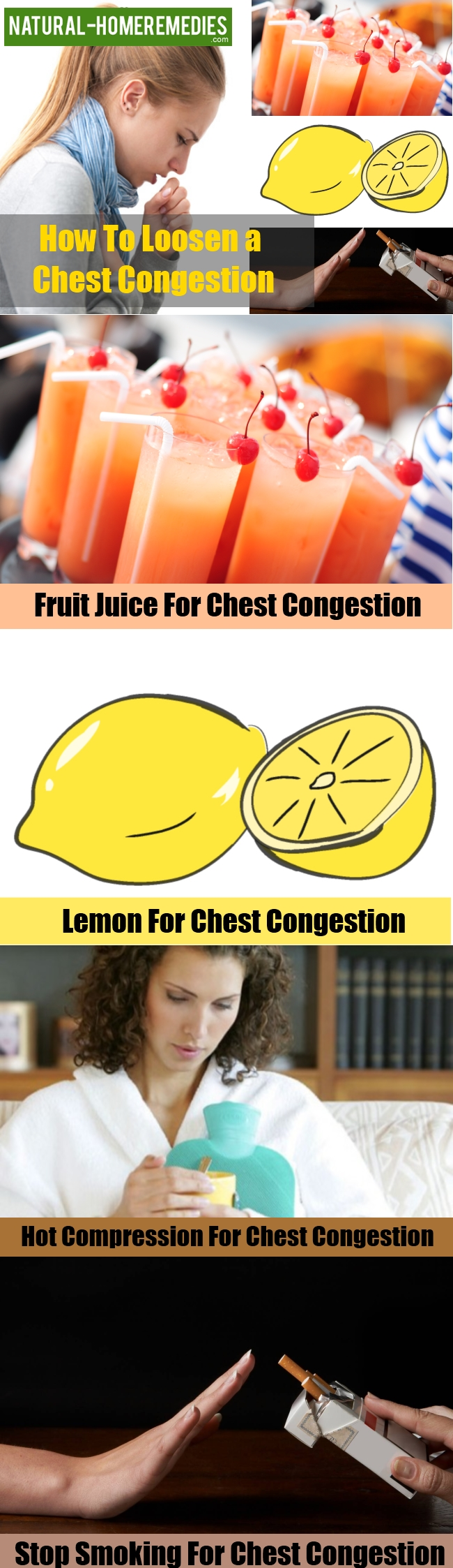 Natural Cures For Congestion In Chest