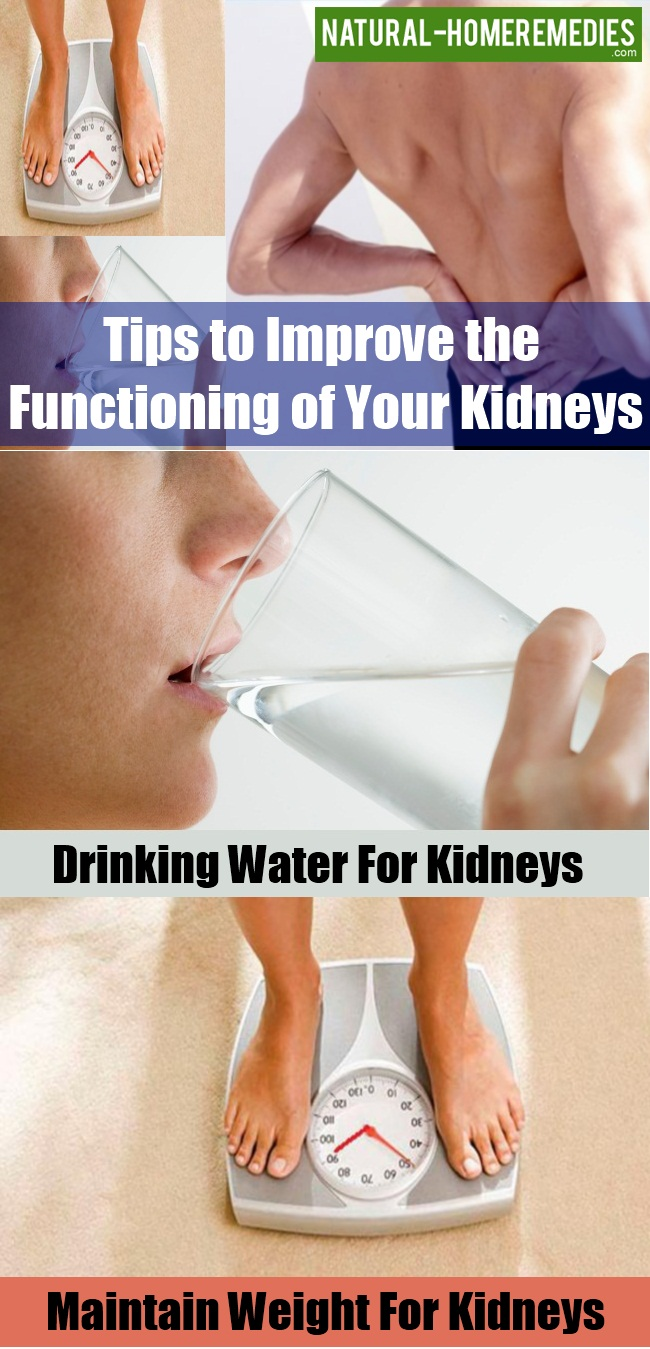 Improve the Functioning of Your Kidneys