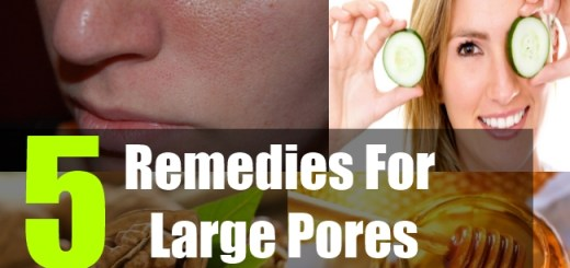5 Remedies For Large Pores