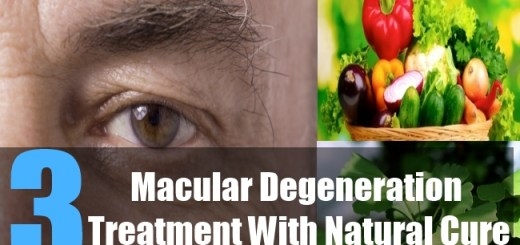 3 Macular Degeneration Treatment With Natural Cure