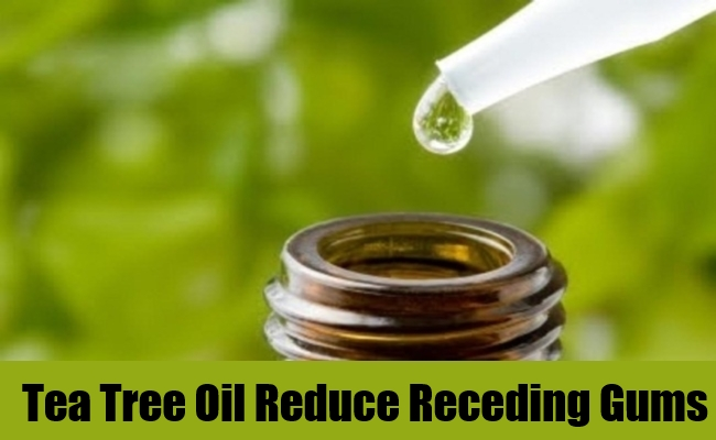 Tea Tree Oil Reduce Receding Gums