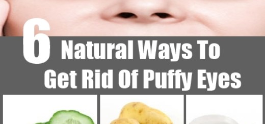 6 Natural Ways To Get Rid Of Puffy Eyes