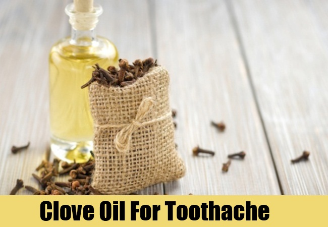 Natural Remedy For Toothache Cloves