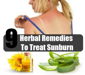 Herbal Remedies To Treat Sunburn