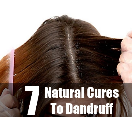 Natural Cures To Dandruff