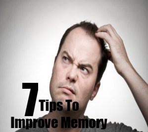 Tips To improve memory