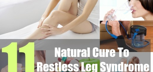 11 Natural Cure To Restless Leg Syndrome