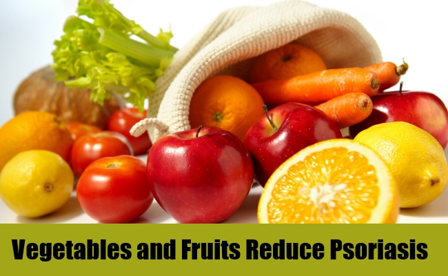 Vegetables and Fruits Reduce Psoriasis