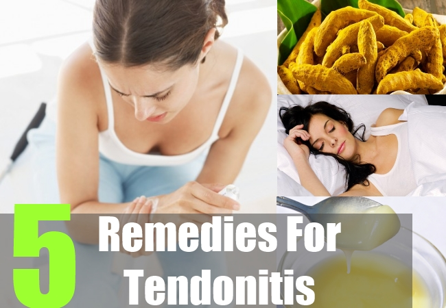 5 Home Remedies For Tendonitis