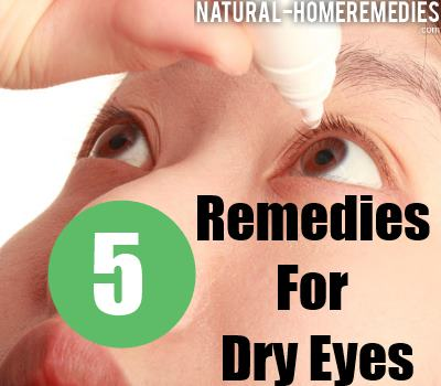 5 Home Remedies For Dry Eyes