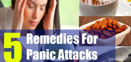 5 Remedies For Panic Attacks