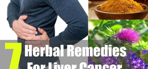 7 Herbal Remedies For Liver Cancer