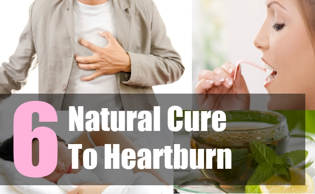 6 Natural Cure To Heartburn