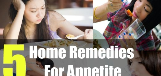 5 Home Remedies For Appetite