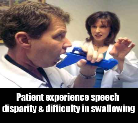 Speech And Swallowing Disparity