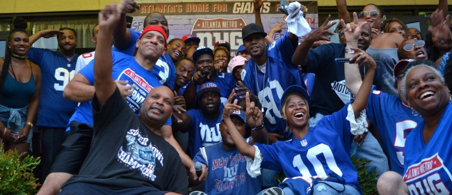 New York Giants Fans Make Chef Rob's Upscale Lounge The Official 2016 Game Home